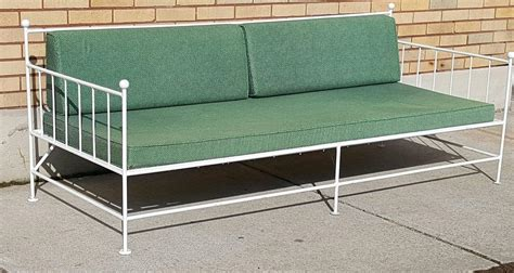 Mid Century Modern Patio Furniture Mid Century Modern Three Iron Patio Garden Set Made By Woodard Furn Co At 1stdibs