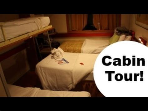 Bunk & Trundle Twin Cabin for 4; Ocean View Carnival