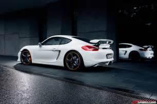 Porsche Caiman Official Techart Porsche Cayman S Gtspirit