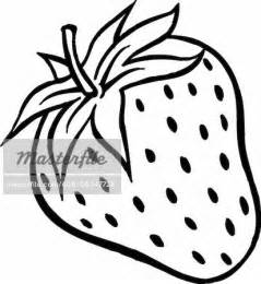 Strawberry Outline Drawing by Strawberry Clipart Outline Clipartsgram