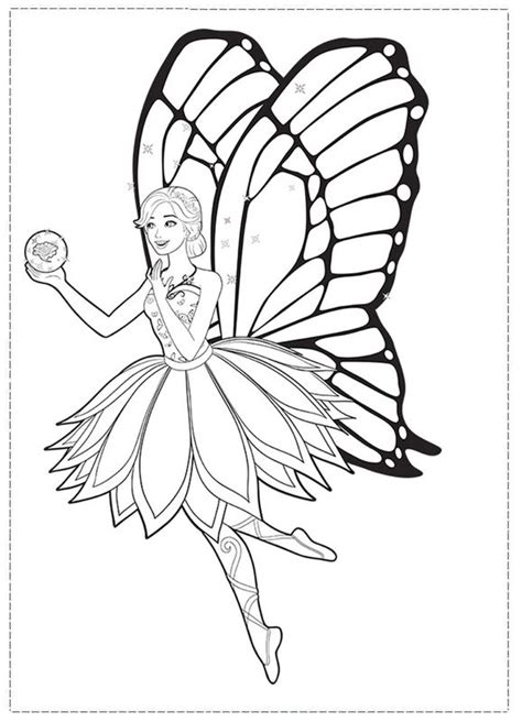 coloring pages barbie fairy secret dibujos para colorear de barbie el secreto de las hadas