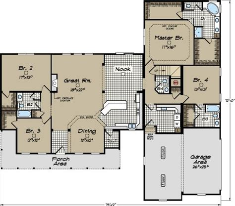 carolina modular home floor plans clarendon cape