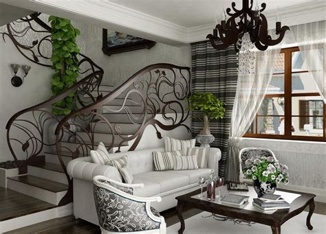 nouveau style interior design ideas