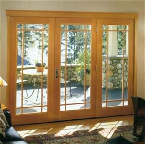 3 Panel Patio Doors For The Breakfast Opening On To The Porch 3 Panel Patio Door Patio Doors
