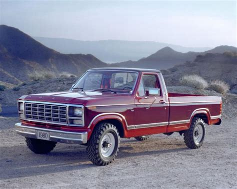 1980 ford f 250 pickup truck photo credit 169 ford motor co