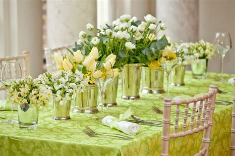 Green Weddings With The Carbonneutral Company by Green Yellow Florals Oh Lovely Day