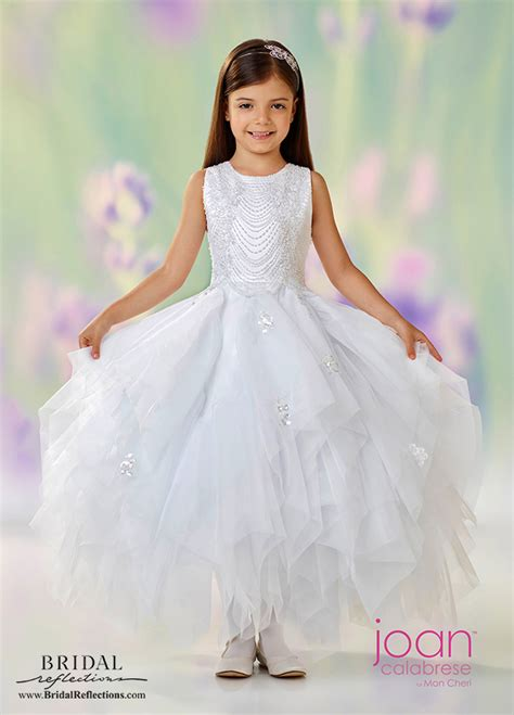 Dress Joan joan calabrese flower dress collection bridal