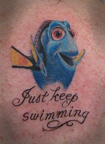 bone daddy tattoo finding nemo tattoos bonedaddys dory from
