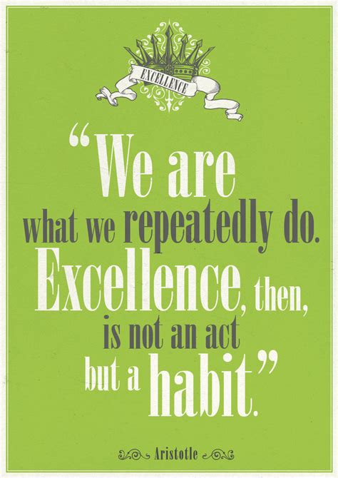 excellence quotes aristotle quotes excellence quotesgram