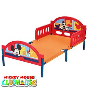 Mickey Mouse Bed Frame Buy Disney Mickey Mouse Cosytime Toddler Bed Frame At Home Bargains