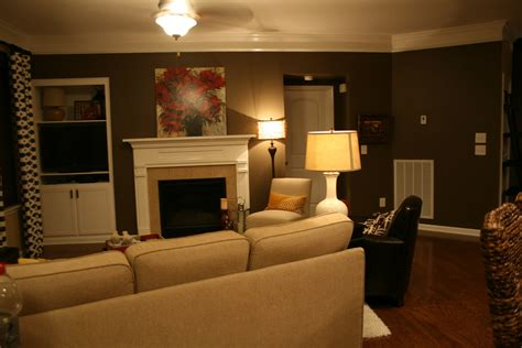 Living Room Accent Wall by The Bozeman Bungalow Living Room Accent Wall Done