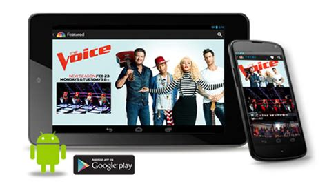 nbc app for android nbc apps nbc