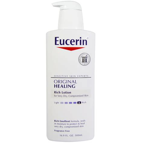 eucerin original healing rich lotion fragrance free 16