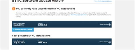 ford sync update stuck sync update v5 8 to v5 9 ford f150 forum community of