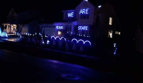 penn state light show ultimate penn state holiday light show gives back to jared