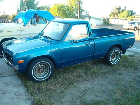 1972 datsun truck datsun 620 1972 1 2 truck blue for sale