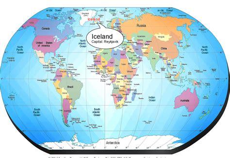 world map with iceland iceland location on world map iceland get free image