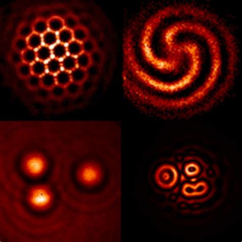 pattern formation in cold atoms optomechanical self organization in cold atoms