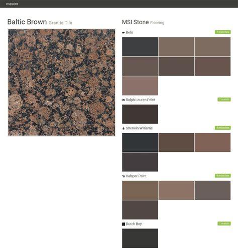 baltic brown granite tile flooring msi behr