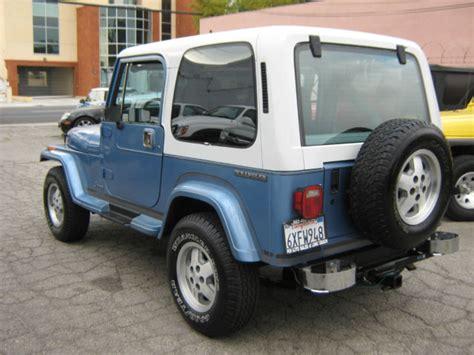 Jeep Wrangler Laredo 1989 Jeep Wrangler Yj Laredo