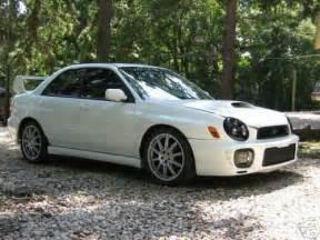 Subaru Wrx 2003 Subaru Impreza Wrx 2003 Black