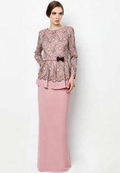 imej baju style baju kurung moden lace minimalis baju raya 2016 fesyen