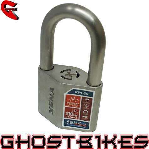 Alarm Xena xena xpl69 bullet lock alarm motorcycle security motorbike