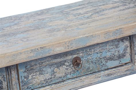 light wood console table with drawers light blue console table with drawers painted altar
