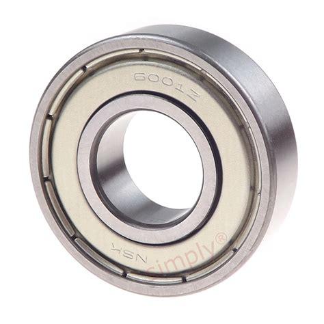 Bearing 6014 Zz Nsk nsk 6001zz metal shielded groove bearing 12x28x8mm simply bearings ltd