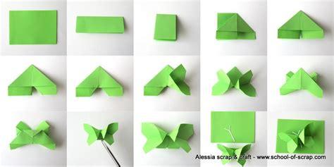 tutorial origami farfalla lavoretti di primavera volo di farfalle origami alessia