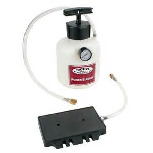 Power Brake Bleeding System Motive Products 0105 Pressure Brake Bleeder Square Master