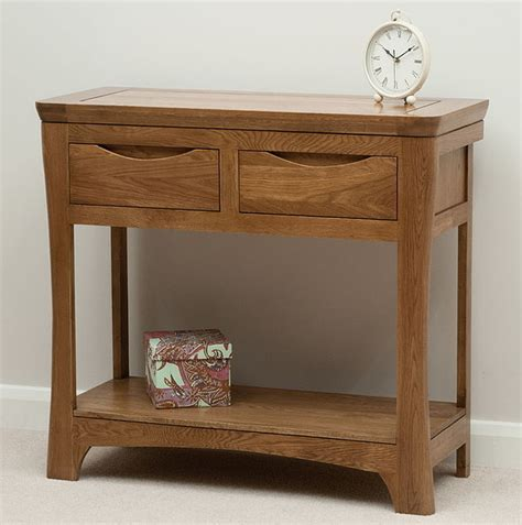Oak Furniture Land Console Table Orrick Rustic Solid Oak Console Table Oak Furniture Land