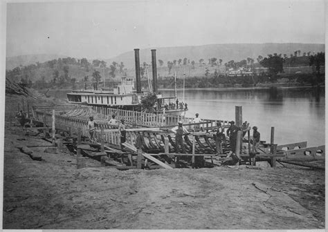 Records Chattanooga Tn File Of The Quartermaster S Department Building Transport Steamers On The
