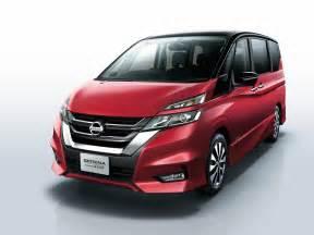 Nissan Sarena Nissan Serena Gets A New Look Features Autonomous Drive Tech