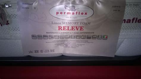 materasso singolo permaflex materasso permaflex releve singolo materassi a prezzi