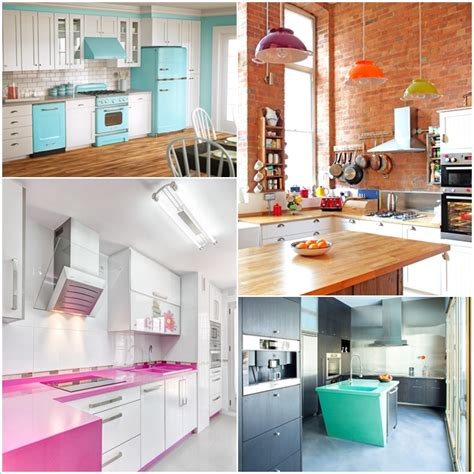 how to add color to a kitchen 10 brilliant ideas to add color to your kitchen home