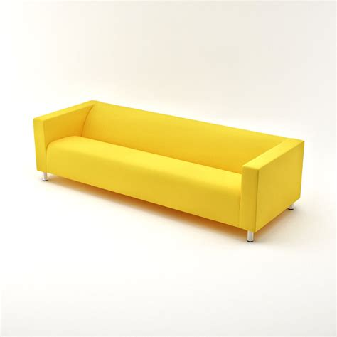 Klippan Sofa by Klippan Four Seat Sofa 3d Model Max Cgtrader