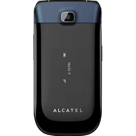 alcatel  bluetooth color camera flip  phone metropcs