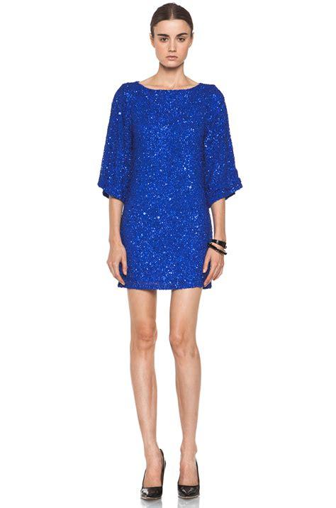 Dress Tunic brainy mademoiselle sequin tunic dress