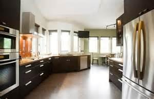 No Cabinets In Kitchen Interior Design Gallery Kitchen Trend No Upper Cabinets