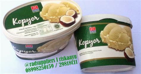 rad supplier food and beverage es krim