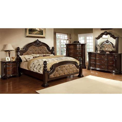 Furniture Of America Bedroom Set Furniture Of America Cathey 4 California King Bedroom Set Idf 7296da Ck 4pc