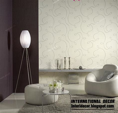 Wallpaper Livingroom modern living room wallpaper design ideas interior