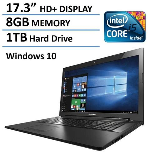 Laptop Lenovo Prosesor Intel 2016 newest lenovo 17 inch high performance premium laptop