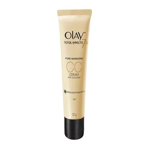 Olay Te Cc Light olay total effects 7 in 1 pore minimizing cc with