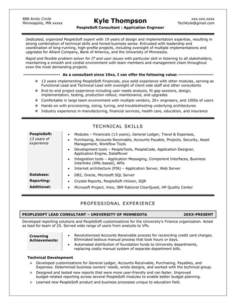 Resume Profile Exles Technical Resume Sles Exles Brightside Resumes