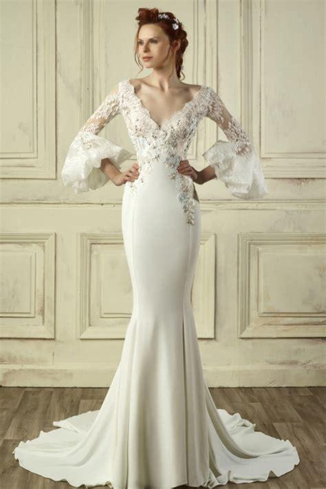 Brautkleider 3d by Ein Brautkleid Mit 3d Flora Heiraten Hochzeit