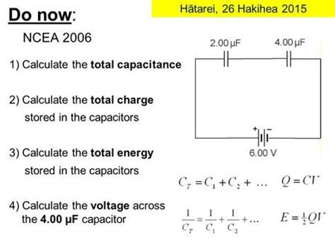 calculate capacitor power explain the process of charging and discharging based on the voltage and current