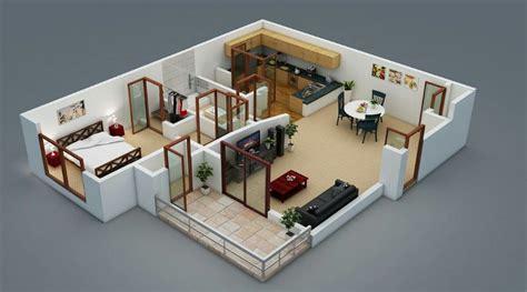 planos de departamentos peque 241 os minimalistas
