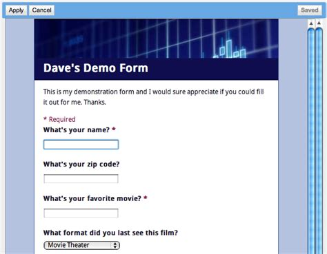 theme in google doc how can i create a form in google docs ask dave taylor